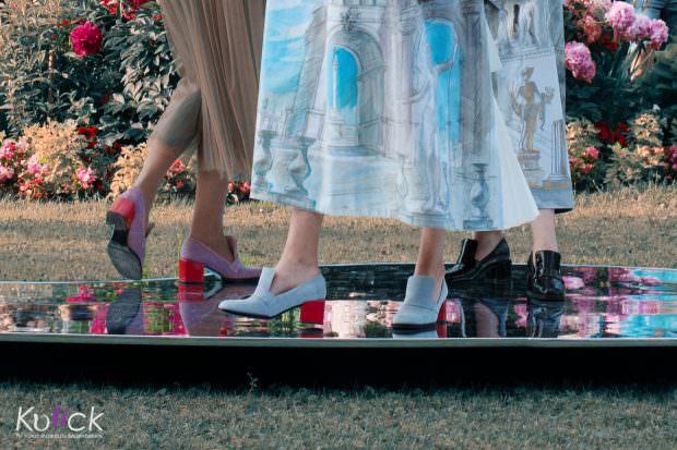 модная обувь мода показ мод